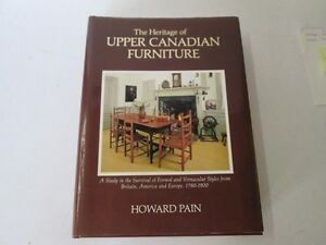 ((( THE HERITAGE OF UPPER CANADIAN FURNITURE ...)))
