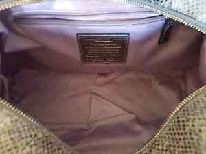 Coach pearlescent python Campbell satchel handbag purse bag Belleville Belleville Area image 6