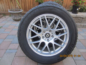 Cooper Discoverer Plus 255/55r18 on Rims.