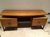 Vintage mid century G-plan desk and office chair