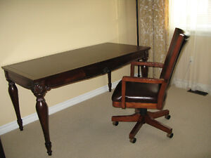 Desk from solid wood. Indonesia