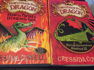 How to train your dragon - Cressida cowell Peterborough Peterborough Area image 1