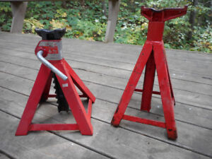 Axle stands, 6 ton single or pair