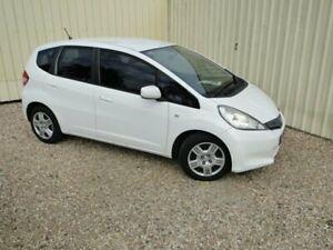 2011 Honda Jazz GE MY12 GLi White 5 Speed Manual Hatchback