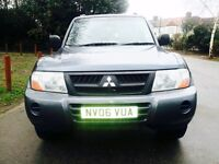 2006 MITSUBISHI SHOGUN 7 SEATER VERY CLEAN INSIDE AND OUT part exchange possible