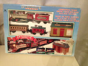 Train de Noel Dickensville express