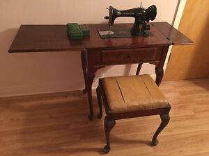 Antique Singer Sewing Table Cornwall Ontario image 2