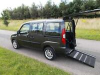 2009 09 Fiat Doblo 1.4 Dynamic.RARE 4 SEATS, Only 30k WHEELCHAIR ACCESSIBLE WAV