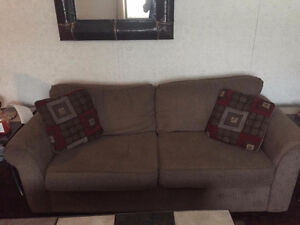 Chenille Couch and Love seat Prince George British Columbia image 2