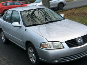 2005 Nissan Sentra for parts