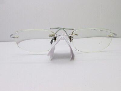 Silhouette EYEGLASSES FRAMES 50-19-145 Rimless Drill Mount TV6 (Drill Mount Eyeglasses)
