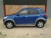 2008 DAIHATSU TERIOS-4 X 4-LETHER-AIR CON-SIDE STEPS-LOW MILES-FINANCE POSSIBLE