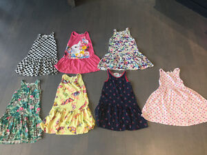 Girl size 6-8 summer clothes - all h&m