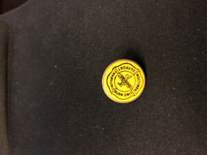 Hamilton Firefighter Support Burn Unit Vintage Collectible Pin