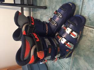 Bottes de ski alpin Lange grandeur 25.5