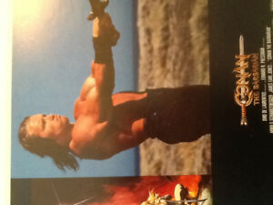 Conan the Barbarian 1982 Movie Lobby Cards ( 8 )