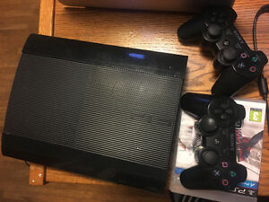 ps 3 with 4 game cds London Ontario image 1