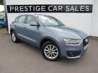 2013 Audi Q3 2.0 TDI SE 5dr Diesel blue Manual