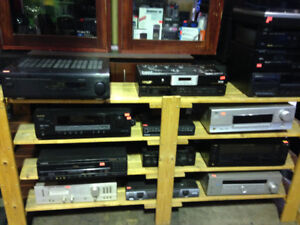 Amps $99+up Sony JVC Pioneer Sanyo