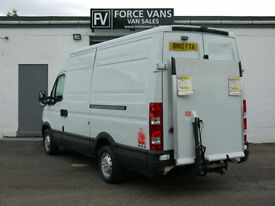 IVECO DAILY 2.3 35S13 TAIL LIFT HI ROOF PANEL DELIVERY LOGISTICS WORK CAMPER VAN