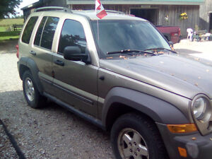 2006 Jeep Liberty Sport SUV, Crossover London Ontario image 3