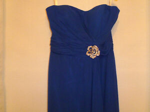 Royal Blue Bridesmaid Dress St. John's Newfoundland image 2