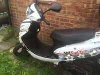 Wk go 50cc moped