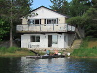 Lakefront Cottage for Rent - Rueckwald Lake in the Pontiac