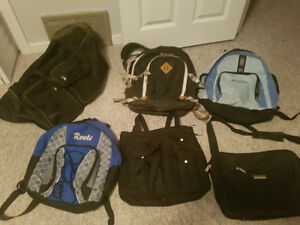Bags and backpacks!