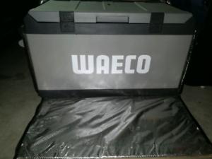 Waeco CF-80DZ 80L transit bag dual zone fridge free