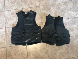 Mustang life jackets PFD