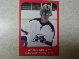 Wayne Gretzky Indianapolis  Racers card Cambridge Kitchener Area image 1