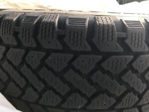 215-60-R16 winter tires with rims for sale