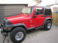 JEEP AFTERMARKET RIMS IN EXCELLENT CONDITION