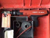 Hilti DX 36M nail gun