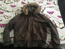 Males's River Island coat large