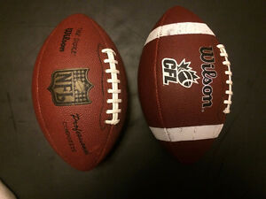 BRAND NEW NFL and CFL Footballs!!!