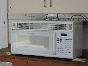 Microwave Oven / Range hood combination for sale