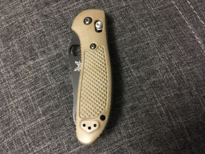 Benchmade Griptillian $60