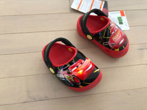 Crocs- lightning McQueen size C5 (12-24 month) brand new w/tags