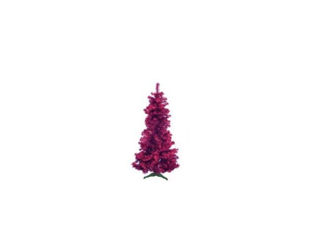 Europalms Kunststoff Tannenbaum Futura violett-metallic / Weihnachtsbaum / 180cm