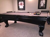 Beautiful solid wood POOL TABLE
