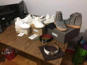 Yeezy white cremes size 9 for sale brand new w box n receipt