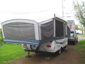 12' Aero Voyager with built in portable toilet