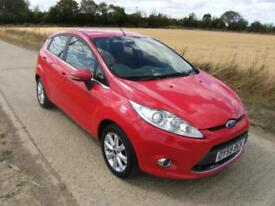 Ford Fiesta 1.25 ( 82ps ) 2009MY Zetec With 96k Miles