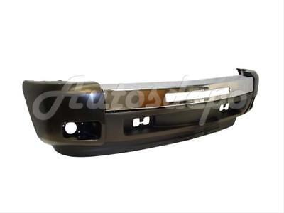 Bundle for 07-13 Silverado 1500 Front Bumper Chrome Bar Cap Valance W/Fog Hole 5