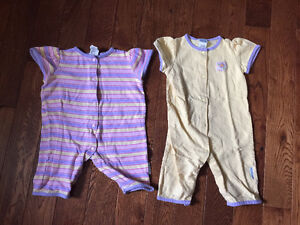 Little Me Rompers - Size 9 months