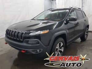 Jeep Cherokee Trailhawk V6 4x4 GPS Cuir Toit Panoramique MAGS 20