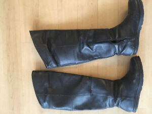 Knee-high real leather boots from Urban Outfitters!