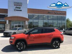 2017 Jeep Compass Trailhawk  BLUETOOTH/GPS/REVERSE CAM, WARRANTY